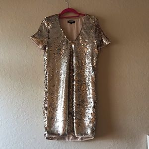 Missguided sequin mini dress